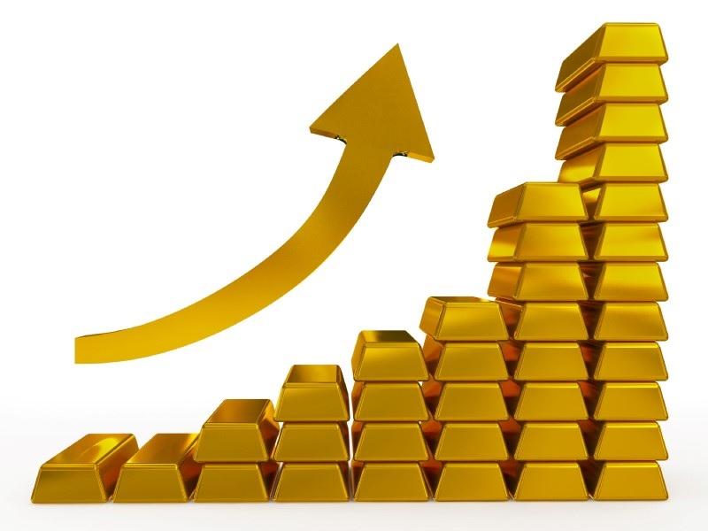 Aurul a crescut